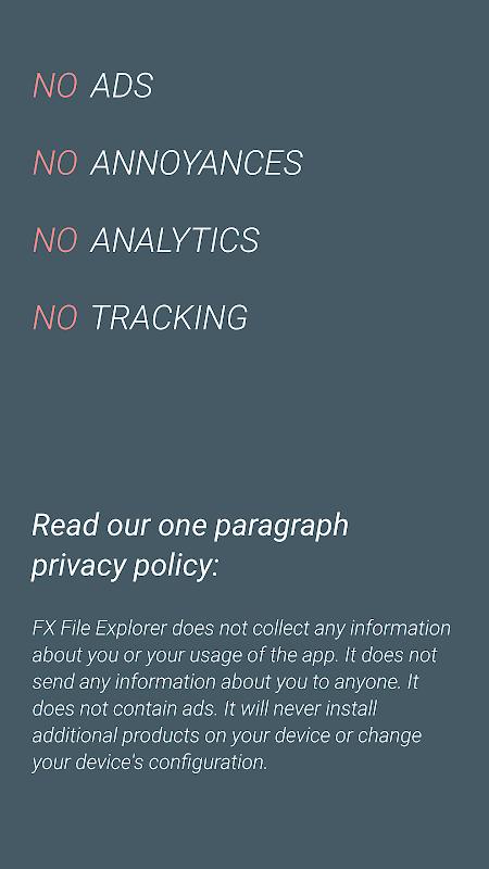 Screenshot FX File Explorer APK