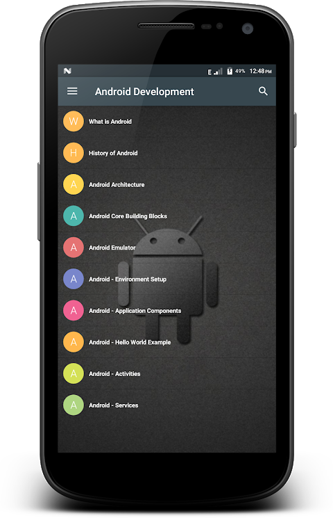 Screenshot Android Development APK