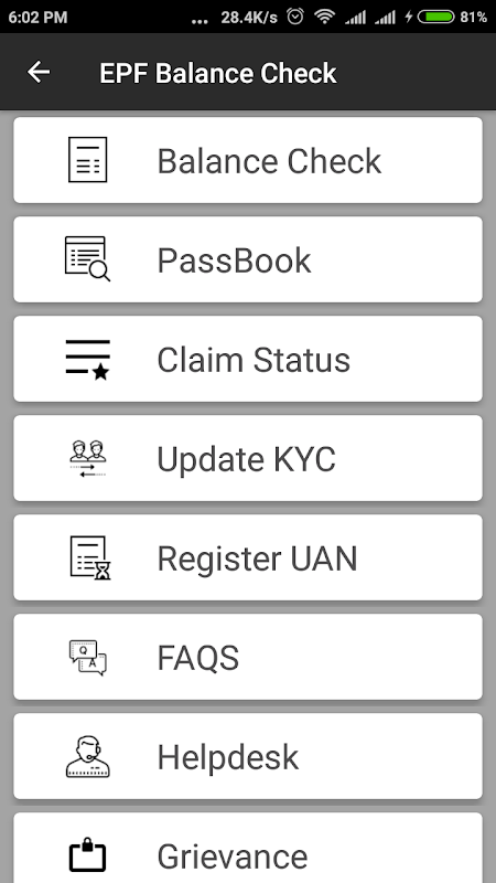 EPF Balance Check, PF PassBook UAN App Download | The App Store