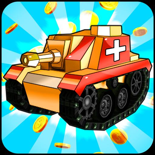 Merge Tanks - Best Idle Merge Game