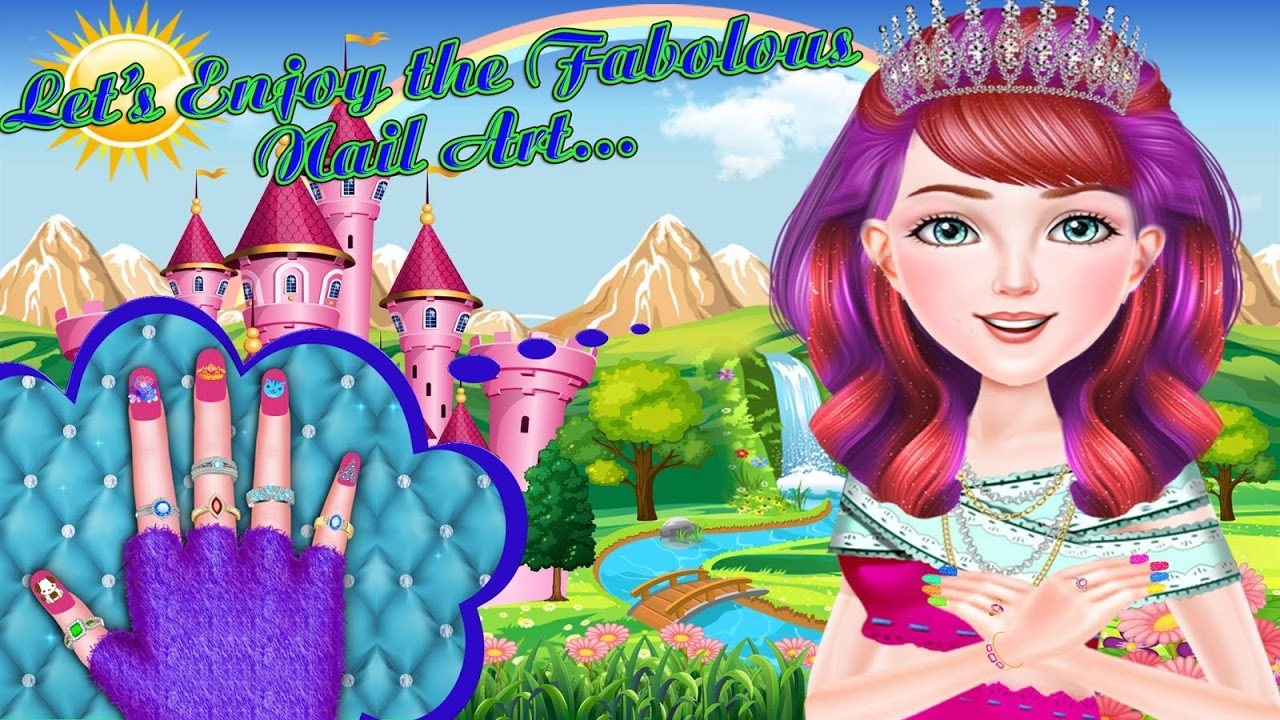 Screenshot Princess Nail Art Fashion Spa Salon APK