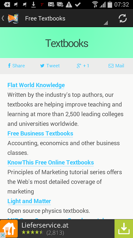 Screenshot Download Free ebooks (Android) APK