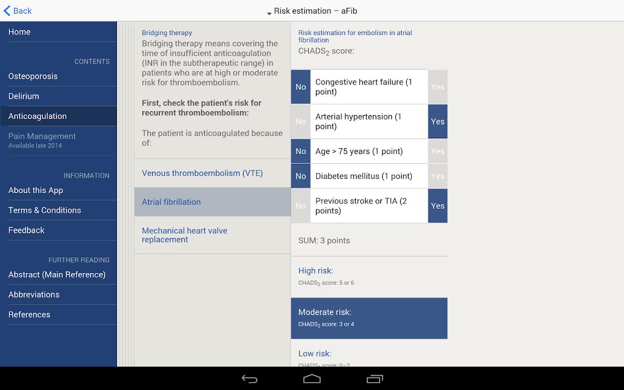 Screenshot AOTrauma Orthogeriatrics APK