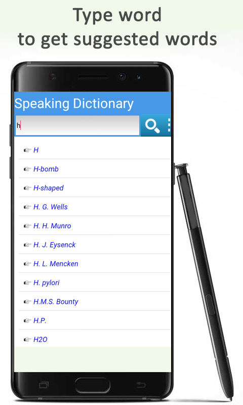 Speaking English Dictionary The App Store