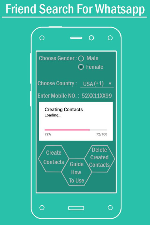Friend Serach For Whatsapp - Girls Number Tracker Download | The App