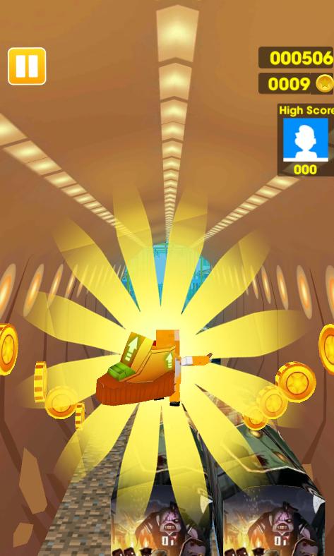 Screenshot Talking Cat Gold Run 2 APK