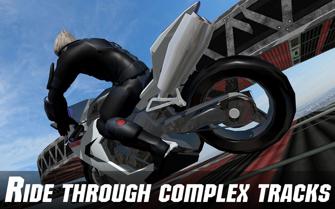 Screenshot Impossible Bike Racing Dangerous Stunts APK