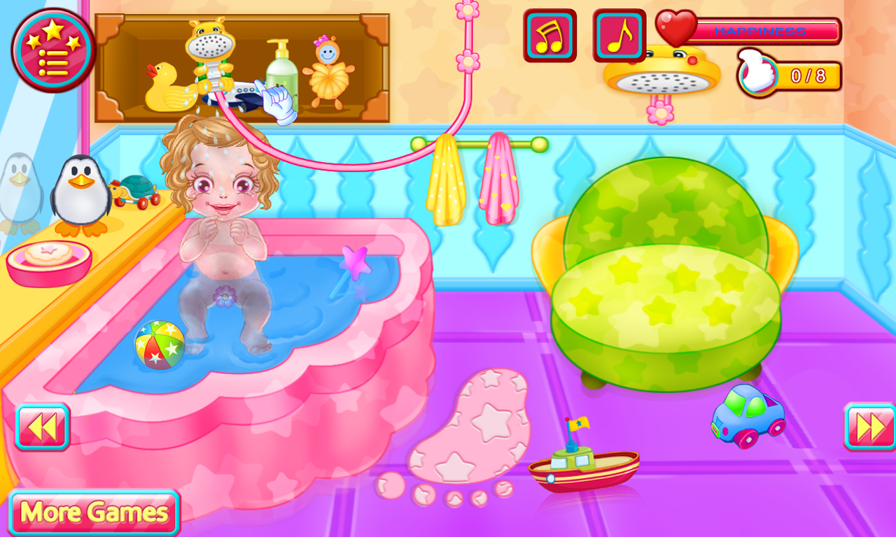 Screenshot Baby Caring Games with Anna APK