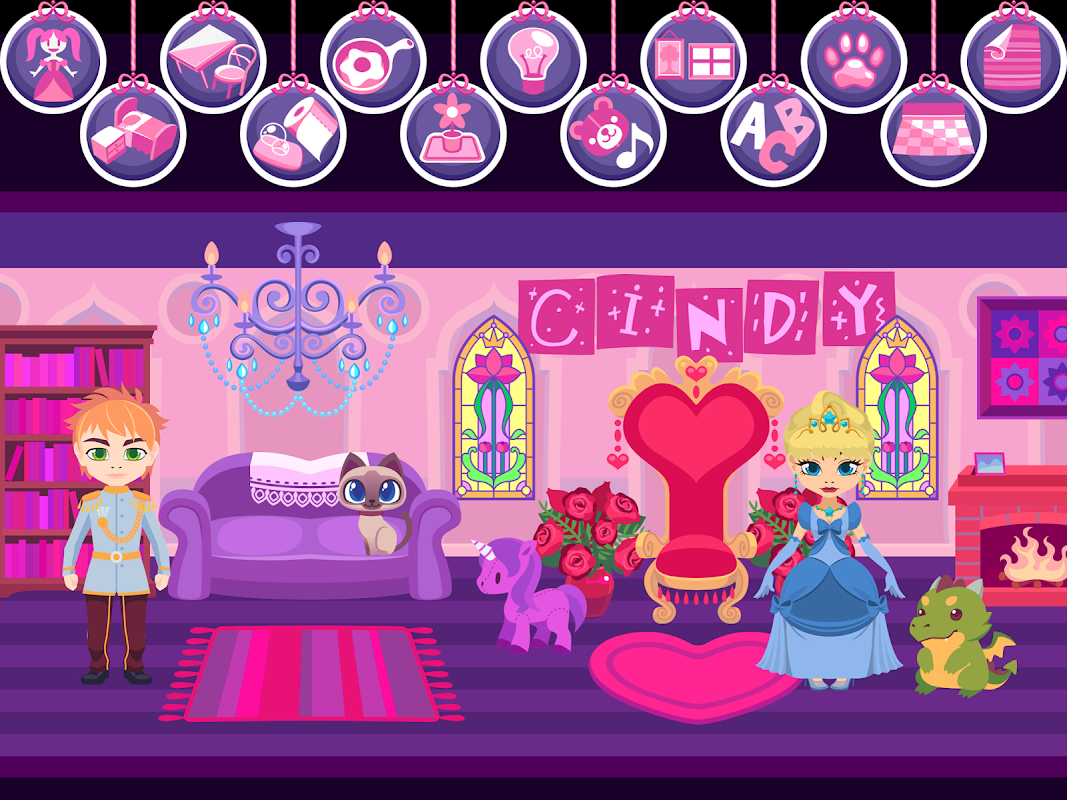 Screenshot My Princess Castle - Doll and Home Decoration Game APK