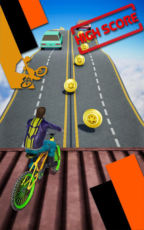 Screenshot Bike Parkour Simulator APK