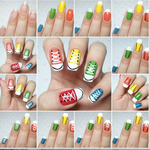 Nail Art Step by Step Designs
