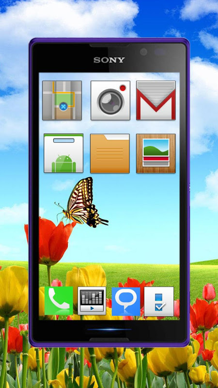 Transparent Screen 3D Launcher The App Store android Code Lads