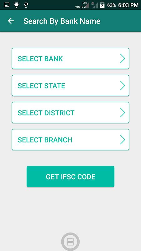 Screenshot IFSC-MICR Bank Codes APK