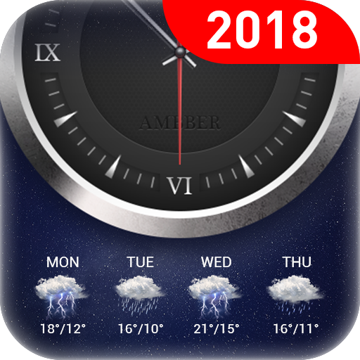 Clock & weather forecast