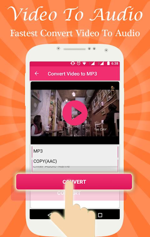 Screenshot Video to Audio Converter APK