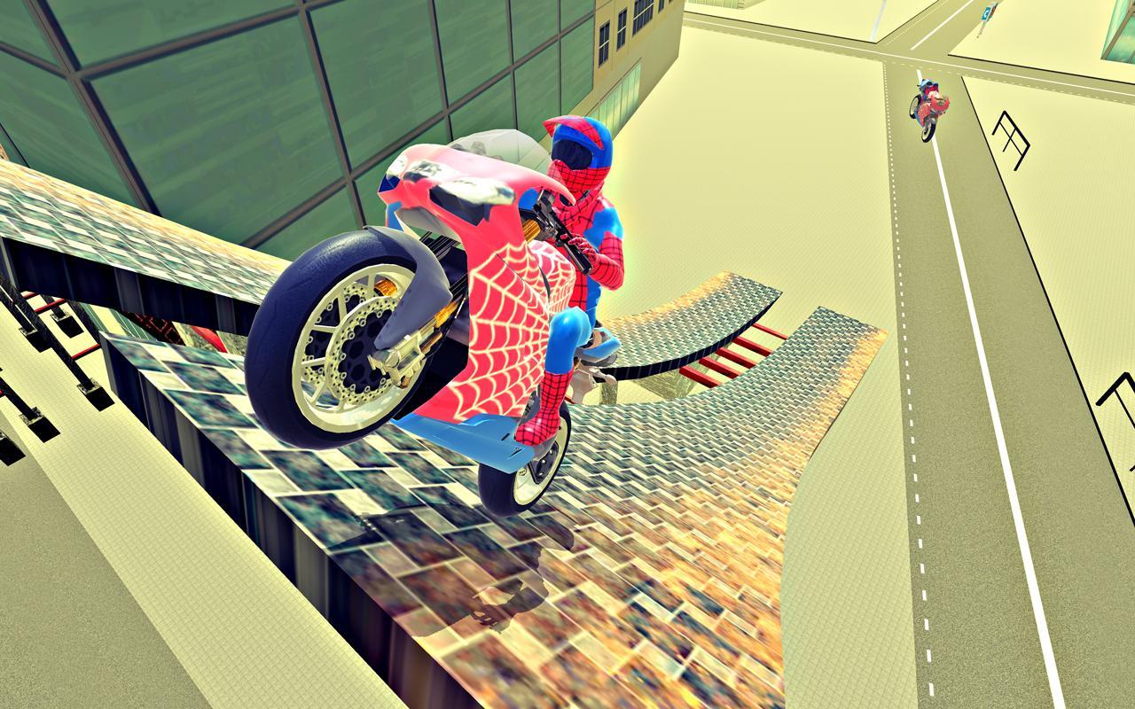 Screenshot Bike Race Top Super Hero Bike Driver APK