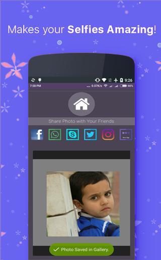 Screenshot Retrico Selfie - Camera Editor APK