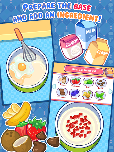 Screenshot My Ice Cream Maker - Frozen Dessert Making Game APK