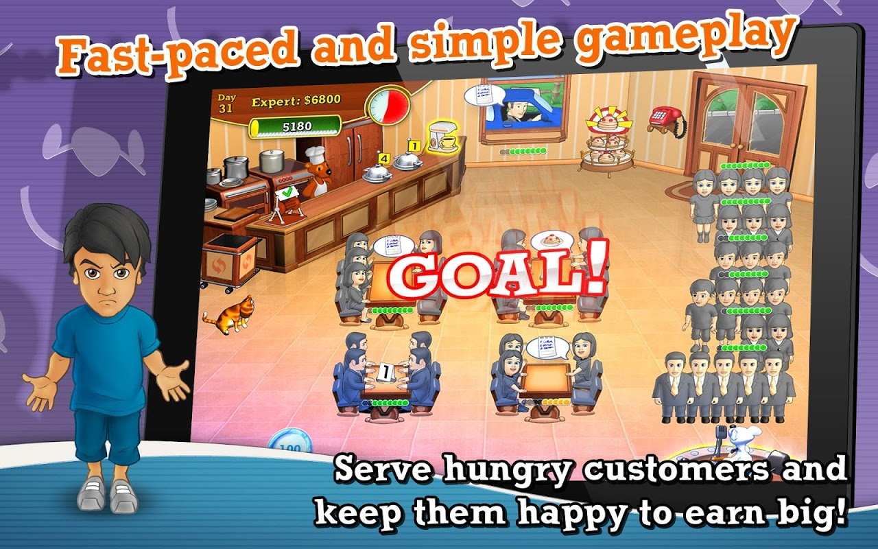 Screenshot Lunch Rush HD Free APK