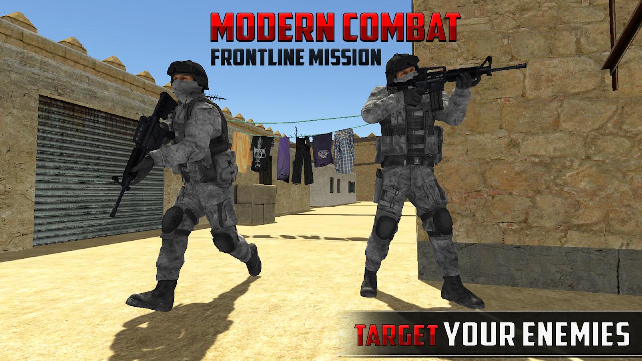 Screenshot Frontline Terrorist Modern Combat Battle Shoot APK
