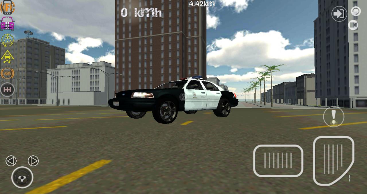 Screenshot Police Trucker Simulator 3D APK