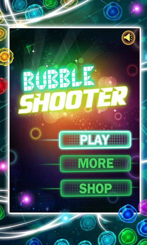 Screenshot Bubble Shooter Glow APK
