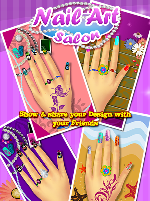 Screenshot Nail Art Salon – Girls Game APK