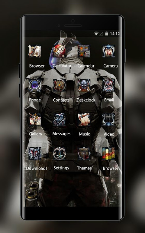 Screenshot War theme batman arkham knight art wallpaper APK
