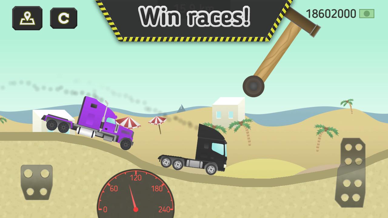 Screenshot Truck Transport 2.0 - Trucks Race APK
