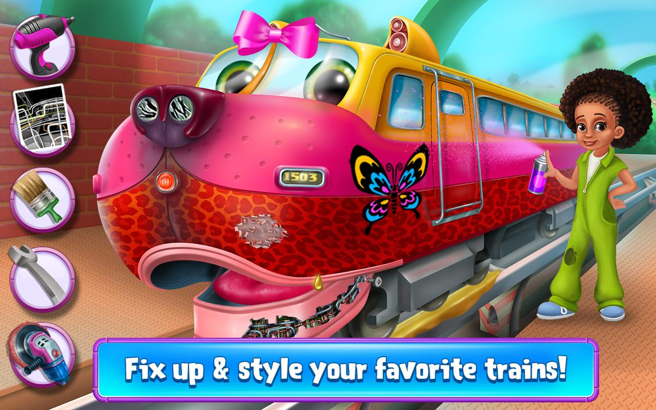 Screenshot Super Fun Trains - All Aboard APK
