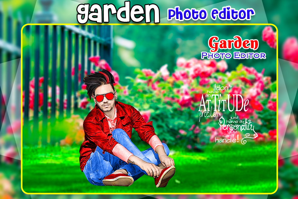 Screenshot Garden Photo Editor APK