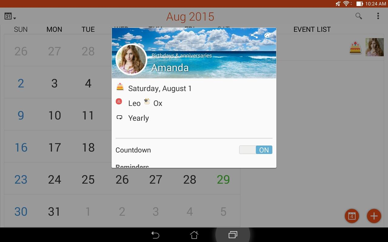 Calendar The App Store android Code Lads