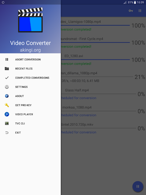 Screenshot Video Converter APK