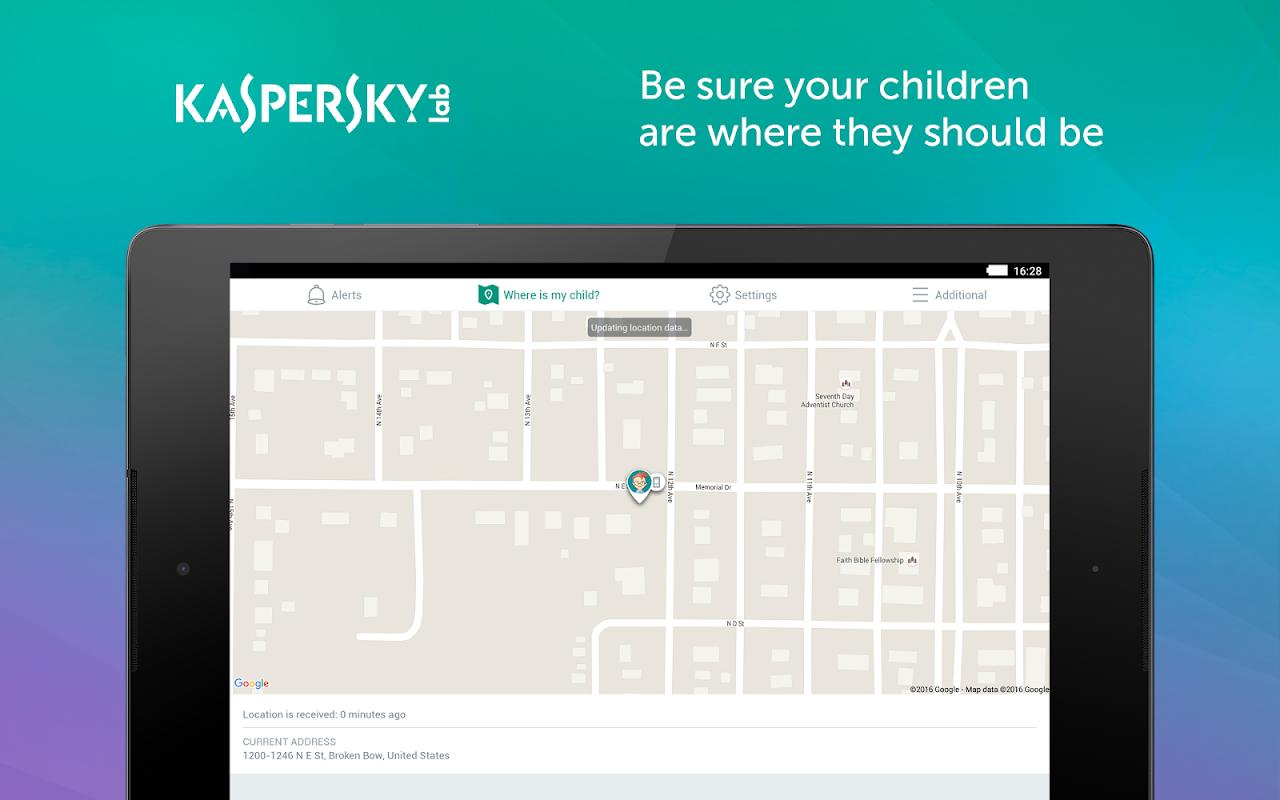 Screenshot Kaspersky SafeKids: Parental Control & Family GPS APK