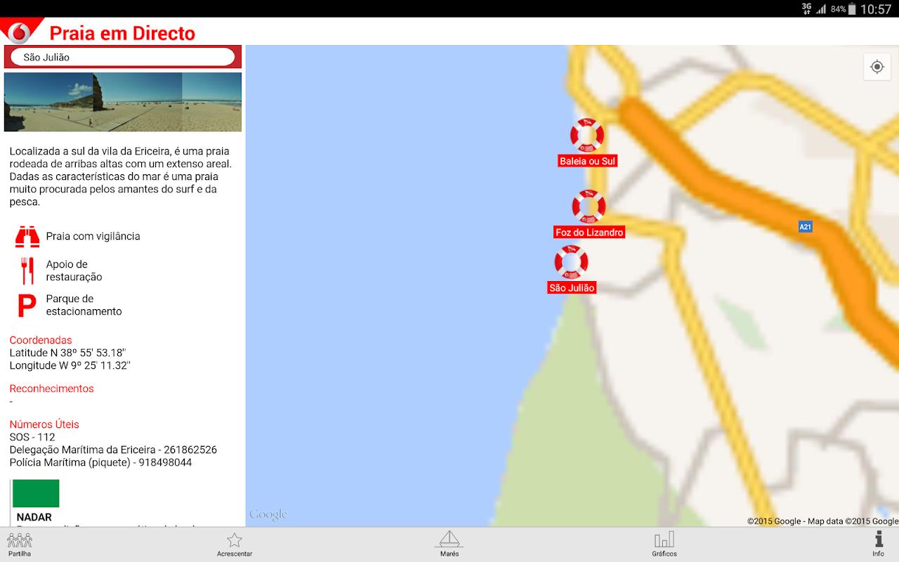 Screenshot Praia em Directo APK