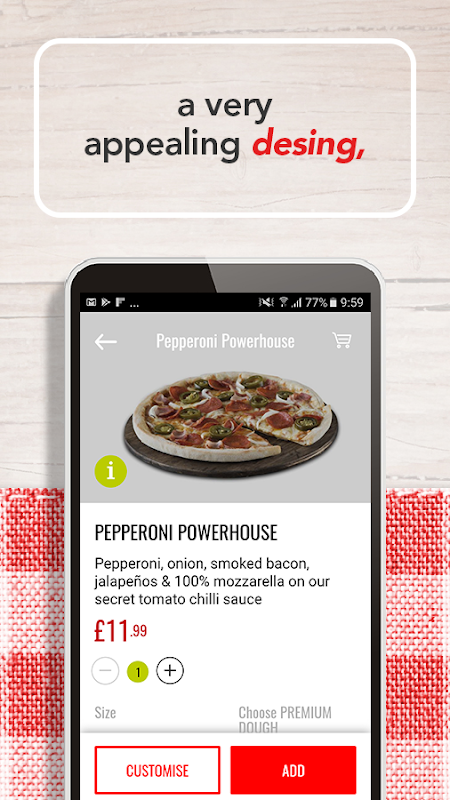 Telepizza Food and pizza delivery The App Store android Code Lads