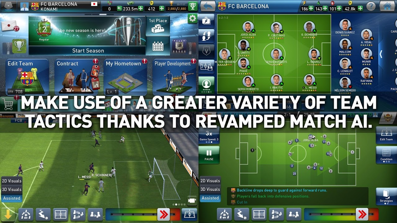 PES CLUB MANAGER The App Store android Code Lads