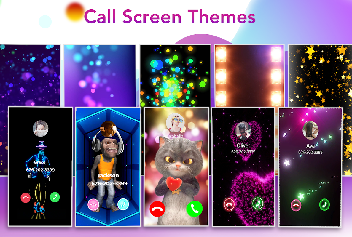 Color Call - Caller Screen, LED Call Flash The App Store android Code Lads
