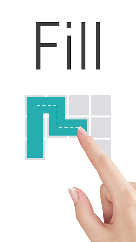 Screenshot Fill - one-line puzzle game APK