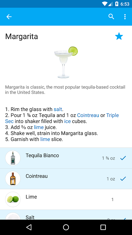My Cocktail Bar Pro The App Store
