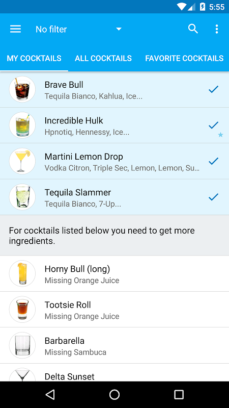 My Cocktail Bar Pro The App Store android Code Lads