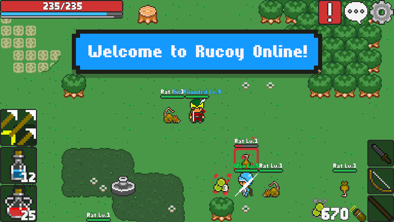 Rucoy Online - MMORPG - MMO - RPG The App Store android Code Lads
