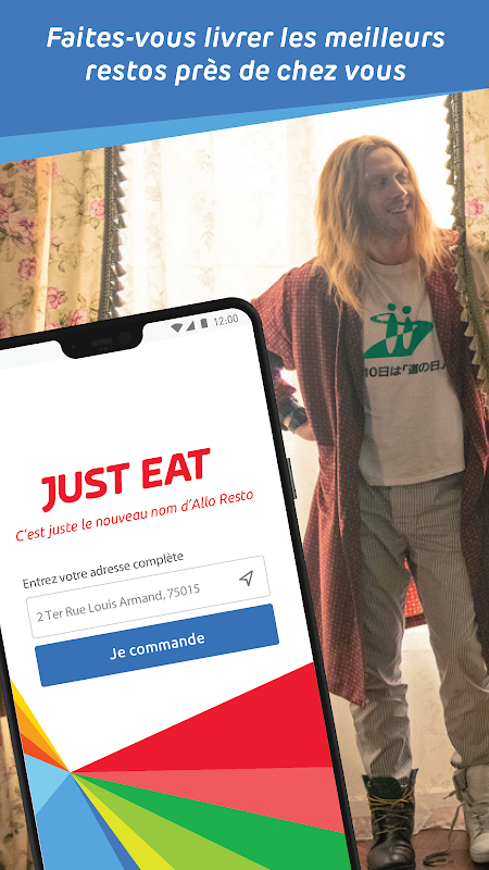 Just Eat (Allo Resto) - Livraison restaurants The App Store android Code Lads