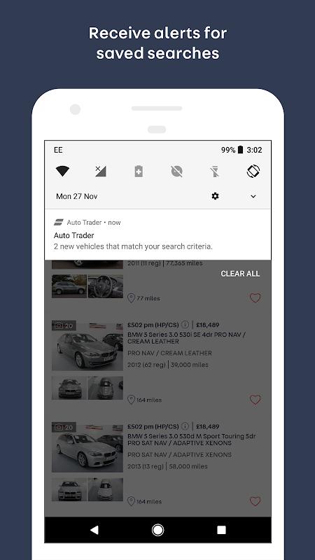 Screenshot Auto Trader APK
