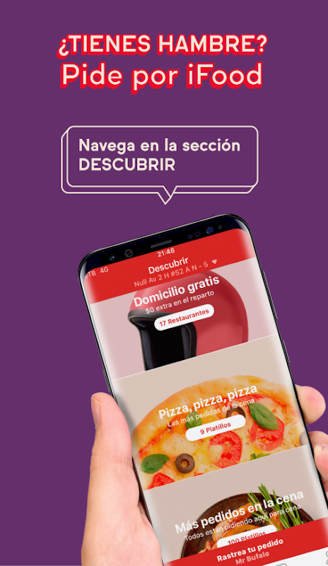 Screenshot iFood - Comida a Domicilio Come Ya APK