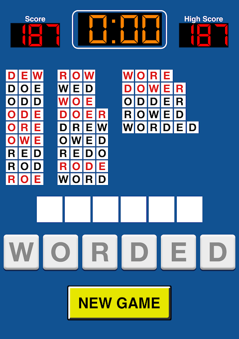 Screenshot Pressed For Words APK