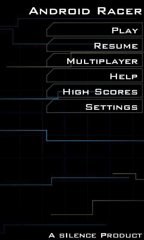 Screenshot Android Racer APK