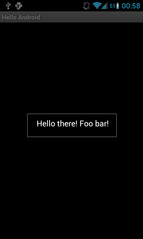 Screenshot Hello Android APK