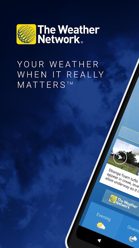 Screenshot The Weather Network: Local Forecasts & Radar Maps APK