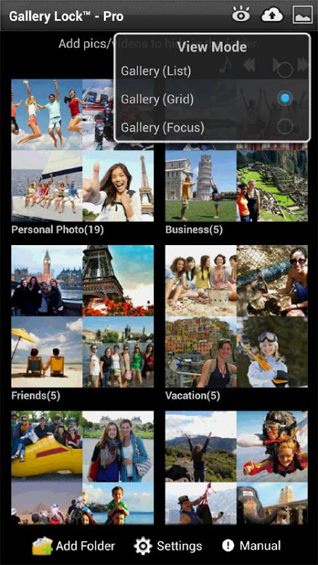 Gallery Lock Pro(Hide picture) The App Store android Code Lads